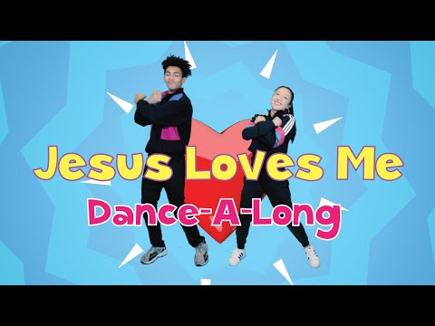 Jesus Loves Me Remix |@CJ and Friends Dance-A-Long with Lyrics |@Listener Kids Music