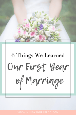6 Things We Learned Our First Year Of Marriage