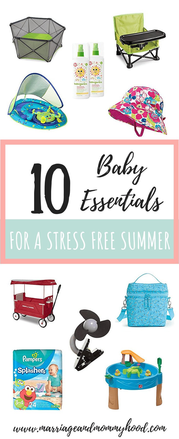 10 Baby Essentials For A Stress Free Summer