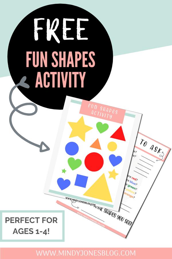 Free Fun Shapes Activity