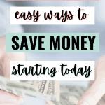 save money now