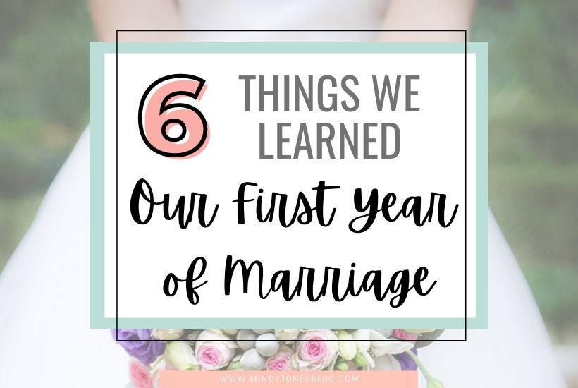 6 Things We Learned in Our First Year of Marriage