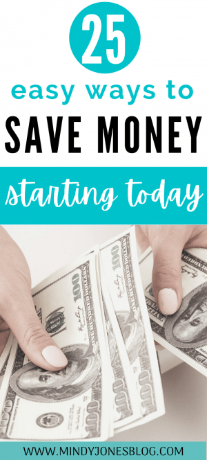 Save money starting now