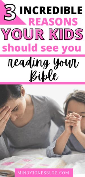 kids reading bible