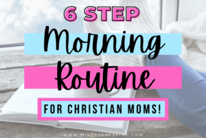 christian mom morning routine
