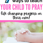 teach your child to pray