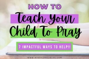 teach your child to pray