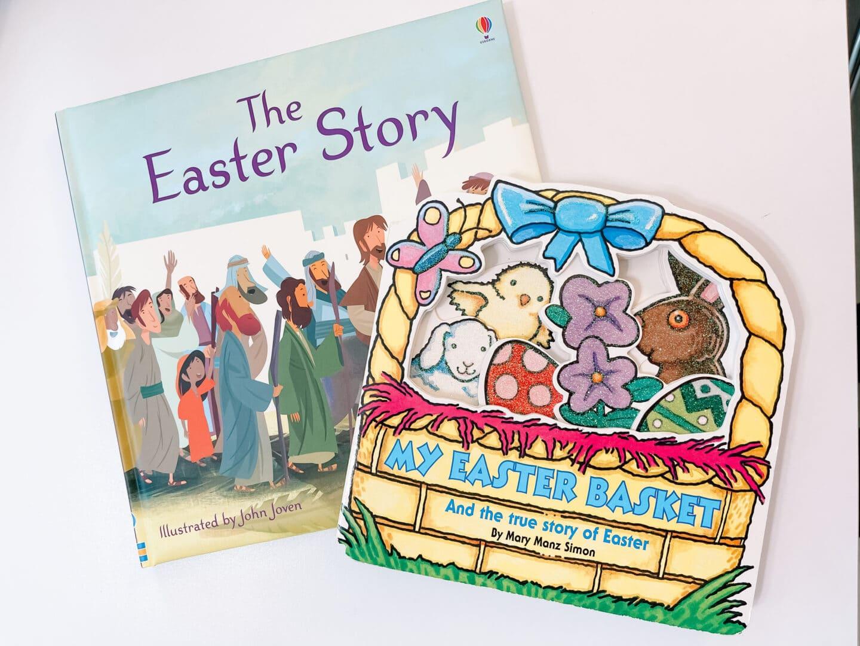 2 christian easter books for kids