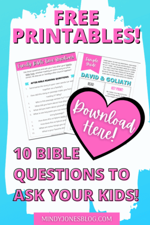 free family bible time questions
