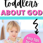 teach toddlers about God