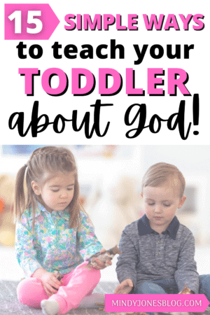 teach your toddler about god