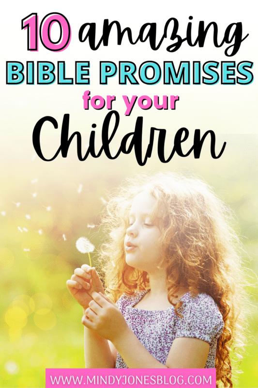 gods promises for kids