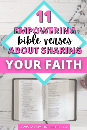 bible verses about sharing your faith