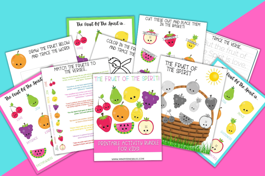 FREE Fruit Of The Spirit Printables For Kids {30+ Pages}