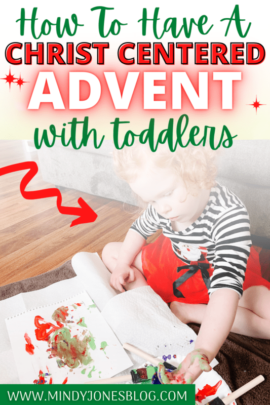 advent for toddlers