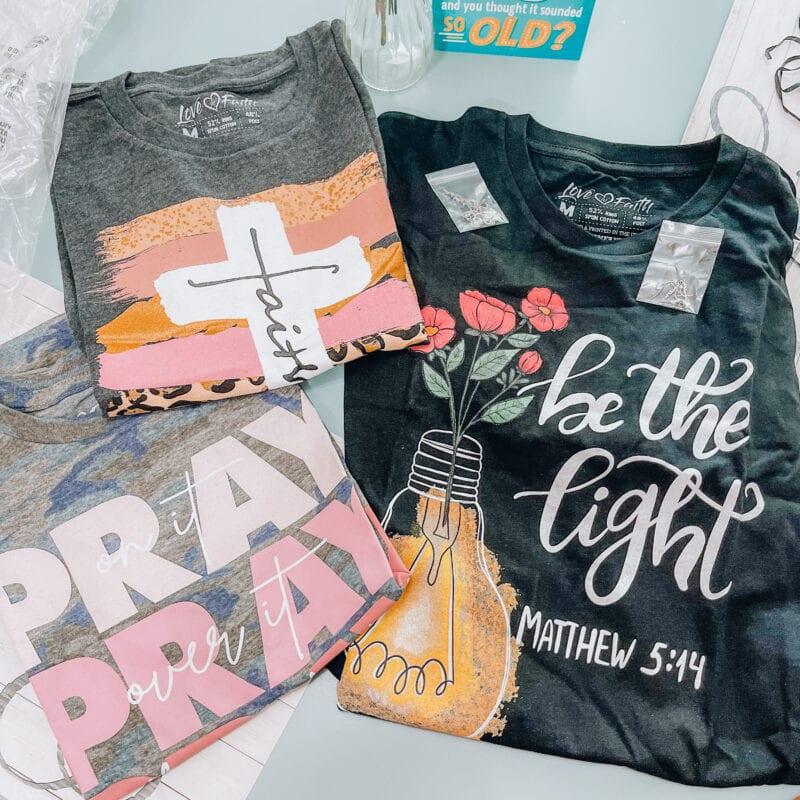 christian t shirts