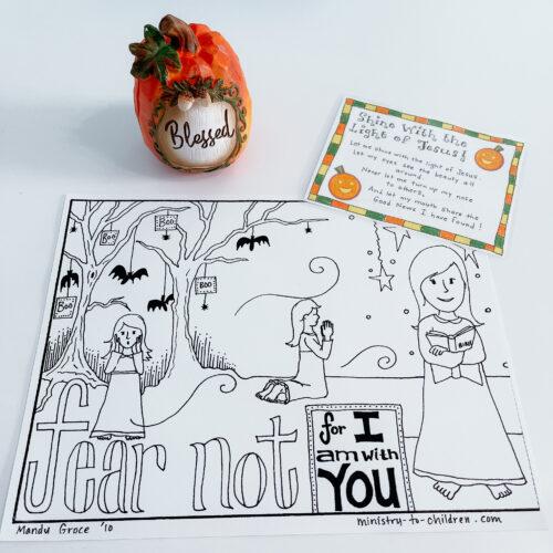 christian halloween ideas crafts