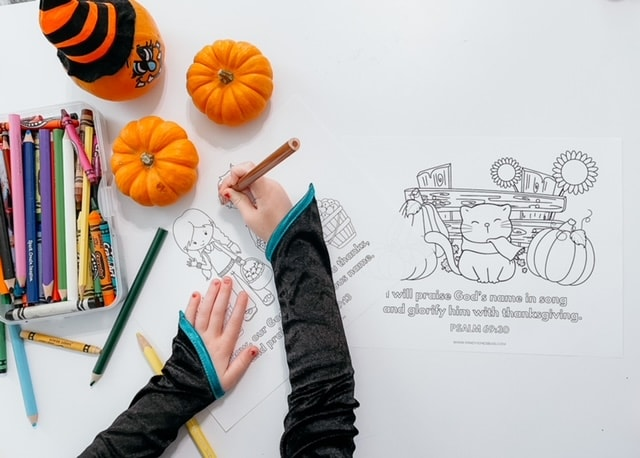 Thanksgiving Coloring Pages With Bible Verses: Free Printables For Kids!
